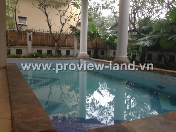 Cho thuê biệt thự đẹp Thảo Điền Quận 2, Villa Sen